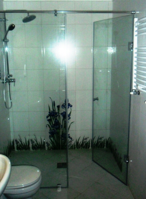Shower Partitions Made Of Glass Installation Instructions